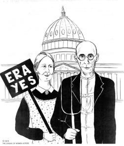 Equal Rights Amendment Flyer- 1973
