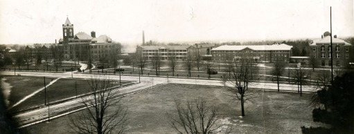 Aerial View of Campus- ca1920s