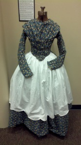 House Maid's Fan-Front Dress