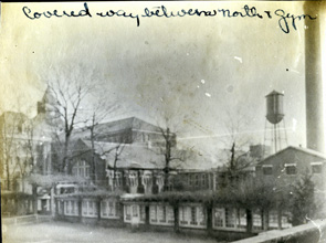 Covered Walkway Connecting Margaret Nance Hall to Peabody Gymnasium- 1925