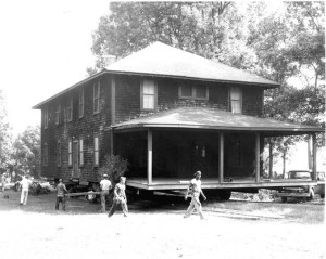 The Shack Being Relocated in August 1960