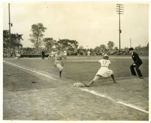 Jean Faut's First career Hit - 1946