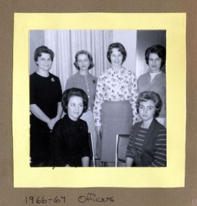 Junior Women's Club of Rock Hill Officers - 1966-1967