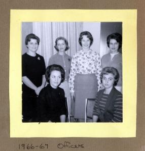 Junior Women's Club of Rock Hill Officers - 1966-1967