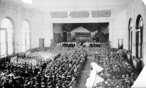 Dr. Shelton Phelps Inauguration Ceremony in Tillman Auditorium - November 1934