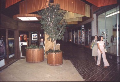 Interior of the Town Center Mall - ca1970s
