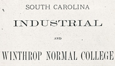 Letterhead from the Board of Trustees Report to the General Assembly - 1893
