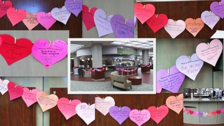 valentine event collage