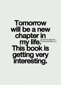 tomorrow will be new chapter